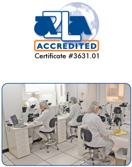 McCrone Associates achieves ISO/IEC 17025 accreditation.