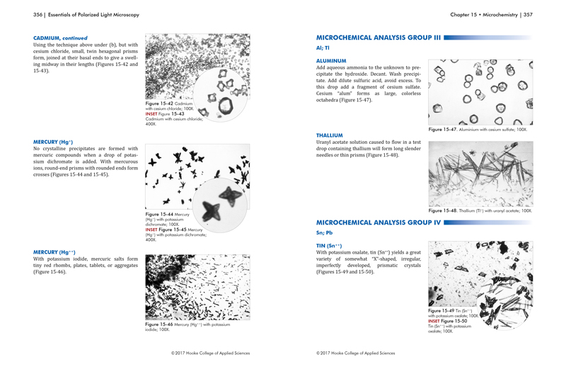 Essentials of Polarized Light Microscopy and Ancillary Techniques pg. 356-357