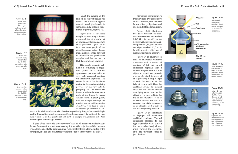 Essentials of Polarized Light Microscopy and Ancillary Techniques pg. 418-419