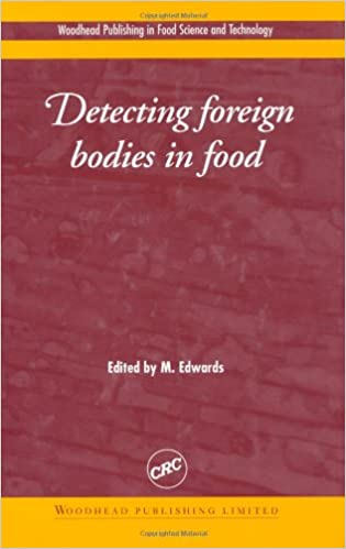 Detecting foreign bodies in food book