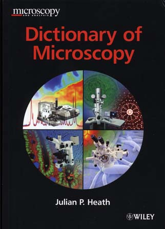 Dictionary of Microscopy - cover