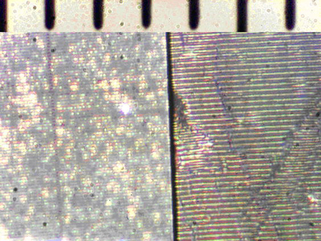 surface of glitter