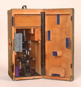 Winkel-Zeiss WWII Military Field Hospital Microscope Kit