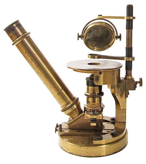 Nachet's chemical microscope