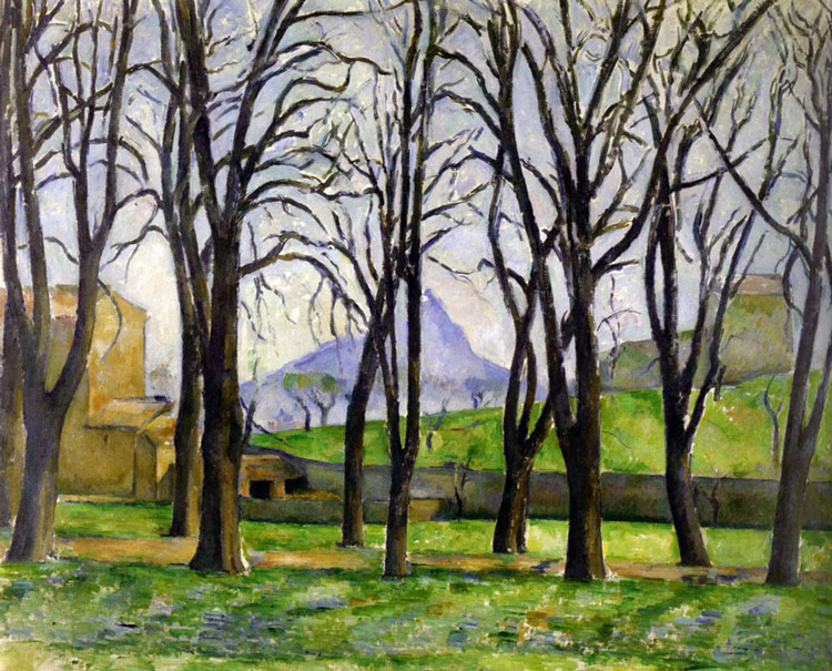 Cezanne Chestnut Trees