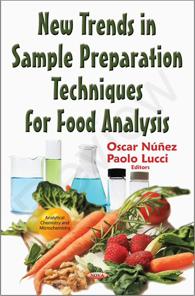 Book cover - Sample Prep Techniques for Food Analysis