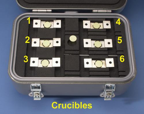 McCrone crucible micro-transportation device
