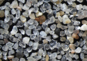 Sand from Hermosa Beach, California, 25X