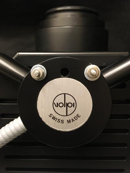Volpi fiber optic light guide close up