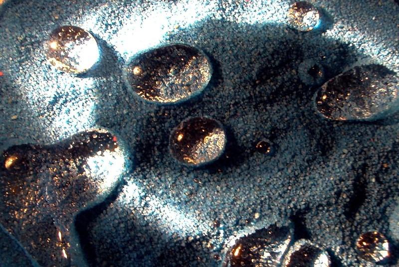 hydrophobic sand