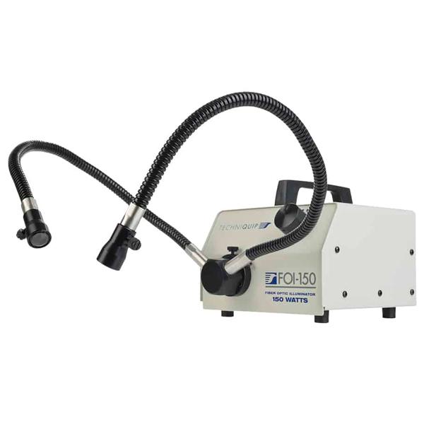 techniquip FOI-150 gooseneck fiber optic lights