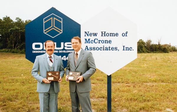 McCrone Associates construction site