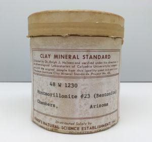 Bentonite clay standard