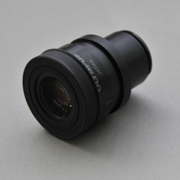 Olympus eyepiece with USP 788 reticle installed for sale