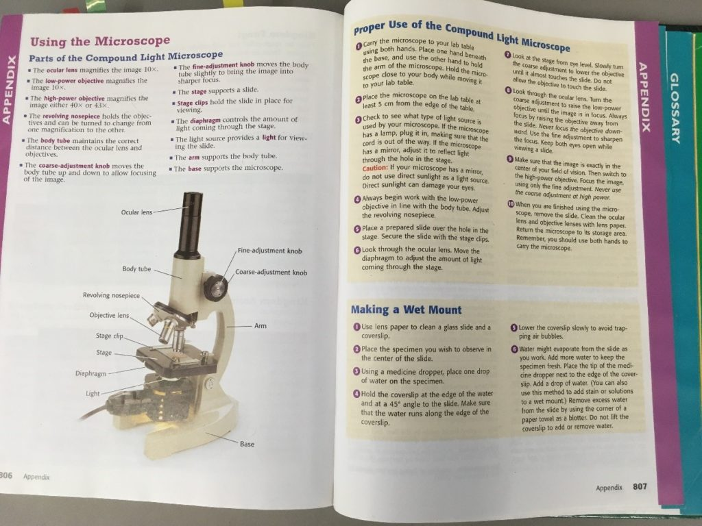 example of a biology textbook