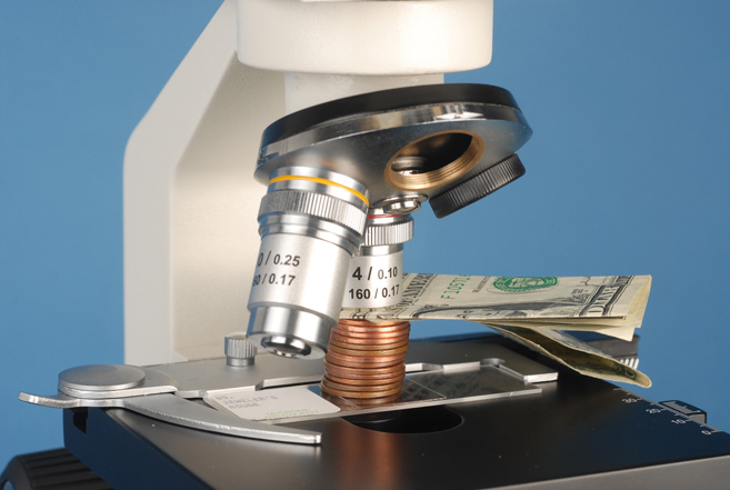 calculating your microscope's free working distance
