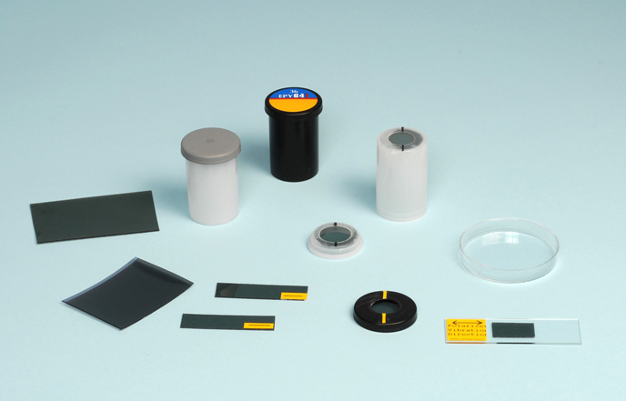 supplies used to convert a microscope for polarized light