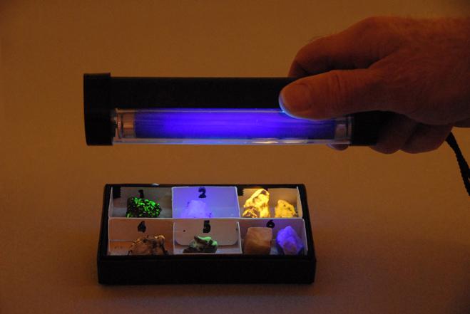 portable ultra-violet light