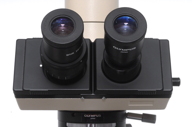 a binocular head with automatic tubelength compensation