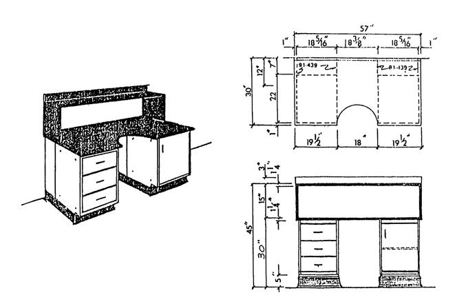 Modern microscope bench design
