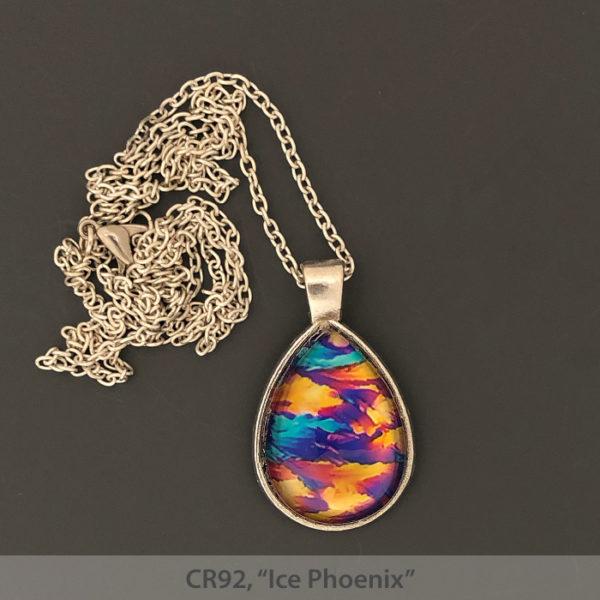 Carol Roullard photomicrograph necklaces