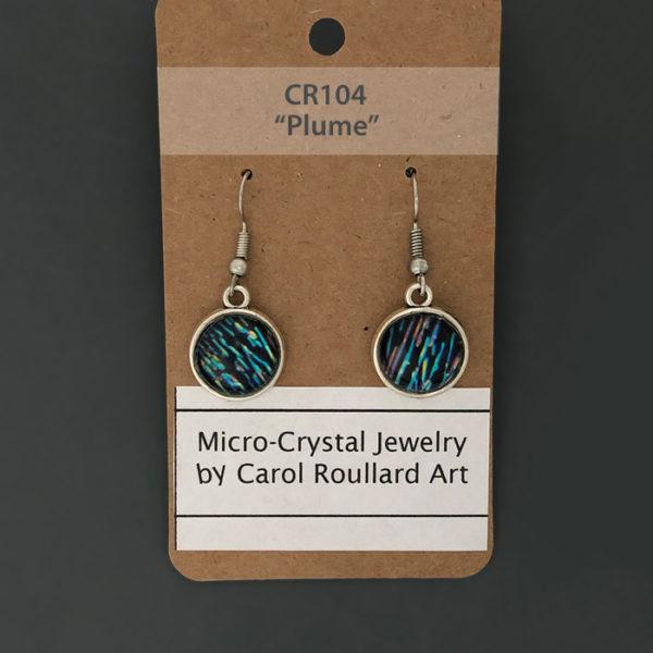 Carol Roullard photomicrograph earrings