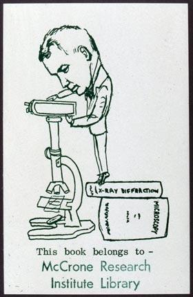 Bookplate of McCroneResearch Institute