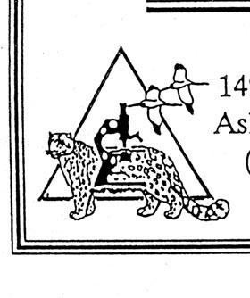 Bookplate of Nat'l Fish & Wildlife Forensics Laboratory closeup