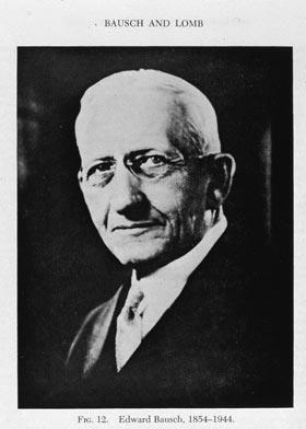 Bookplate of Edward Bausch