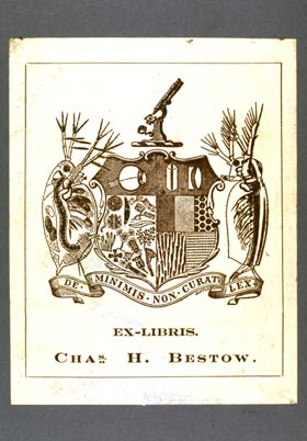 Bookplate of Charles H. Bestow