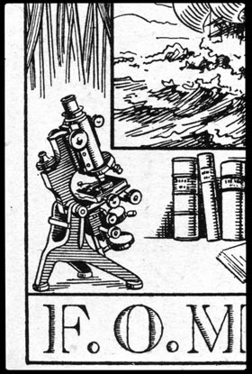 The bookplate of F.O. Mosley