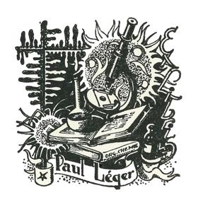 bookplate of Paul Léger